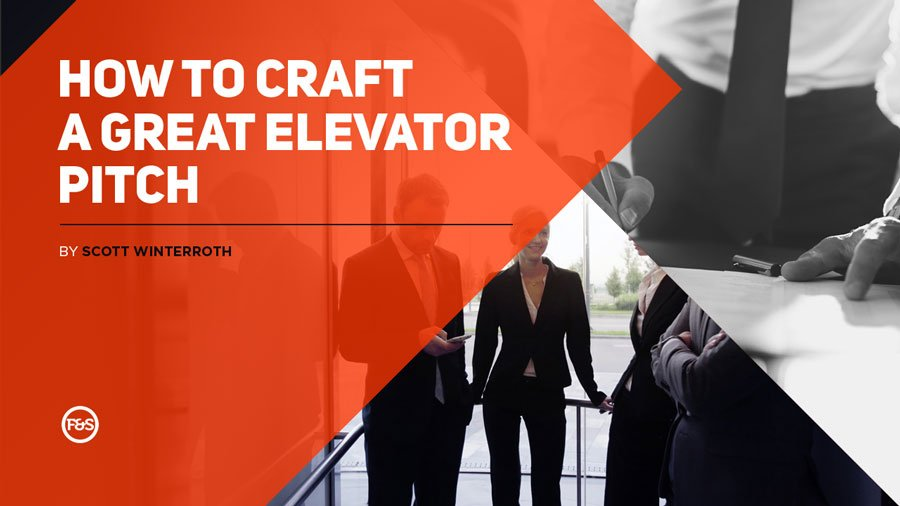 Cover of book, how to craft a great elevator pitch ebook